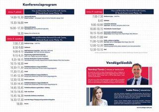 AMPE konferencia programfüzet A4 2019 07.indd